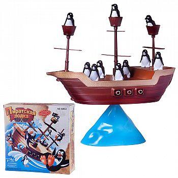 """Настольная игра Junfa """"Пиратская лодка"""""""