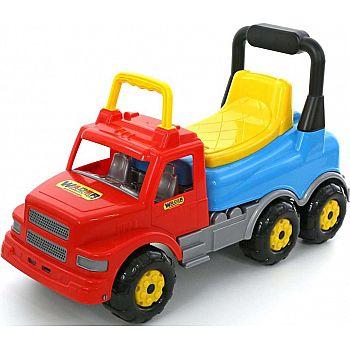 Игрушка-каталка ПОЛЕСЬЕ автомобиль Буран №2 (красно-голубая)