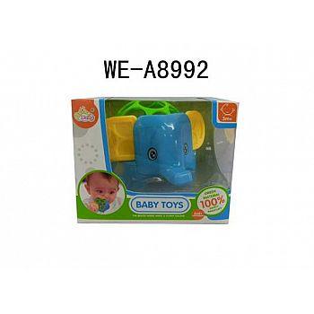 Игрушка для малышей. Погремушка-слоненок