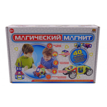 """Конструктор """"Магический магнит"""" , 40 деталей"""