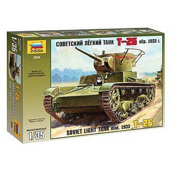 Сборная модель ZVEZDA Танк Т-26