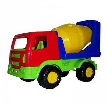 Автомобиль бетоновоз Салют 22х11х15,5 см