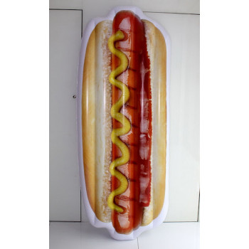 Матрац надувной в виде хот-дога (200*80*21см)