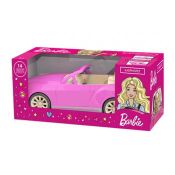 Barbie. Машина Кабриолет