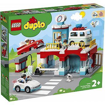 Конструктор LEGO DUPLO Town Гараж и автомойка