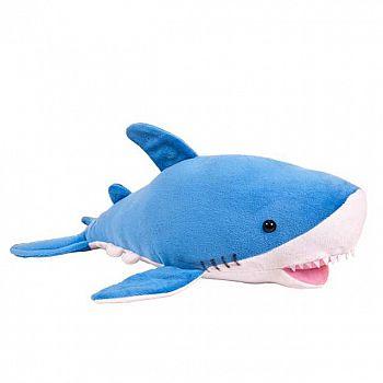 Мягкая игрушка ABtoys В дикой природе Акула, 40см игрушка мягкая