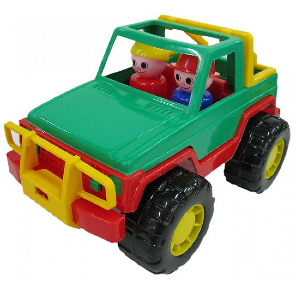 Автомобиль джип сафари 23,5х14,5х13,5 см.