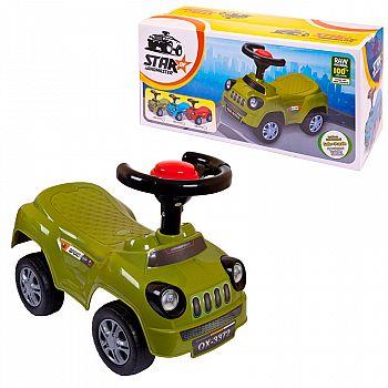 Игрушка для малышей. Машинка-каталка для детей, 51х24х18 см