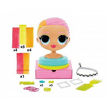 Игровой набор LOL Surprise Голова для моделирования причесок