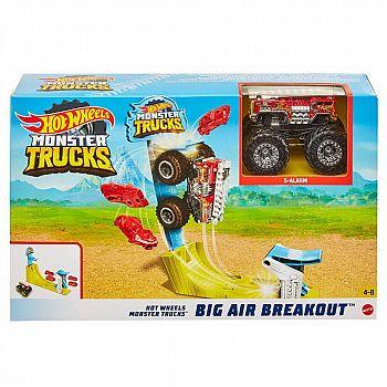Игровой набор Mattel Hot Wheels Монстр трак Трюковой набор Воздушный поединок