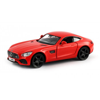 Машинка металлическая Uni-Fortune RMZ City 1:32 Mercedes-Benz GT S AMG 2018 (цвет красный)