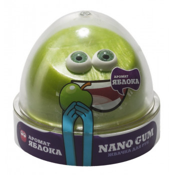 "Жвачка для рук Nano gum аромат яблока"", 50 гр."