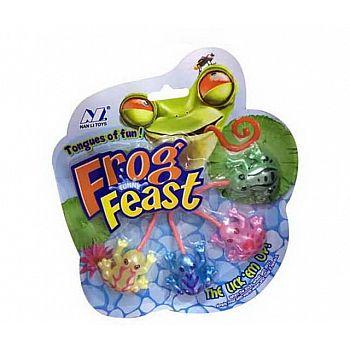 """Игрушка-антистресс Junfa Лизун """"Лягушки """"Frog Feast"""" 18,5х21х1,5 см"""
