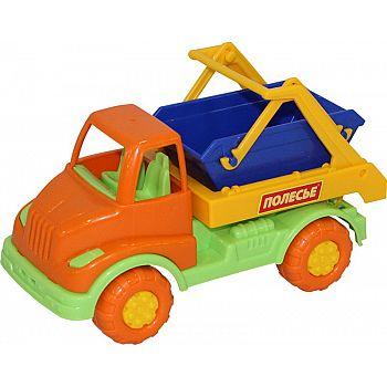 Автомобиль коммунальная спецмашина Кнопик 17х8,3х9,7 см.