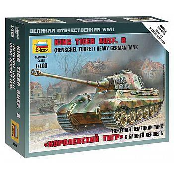 Сборная модель ZVEZDA Тяжелый немецкий танк Королевский Тигр Порше