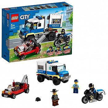 Конструктор LEGO CITY Police Транспорт для перевозки преступников