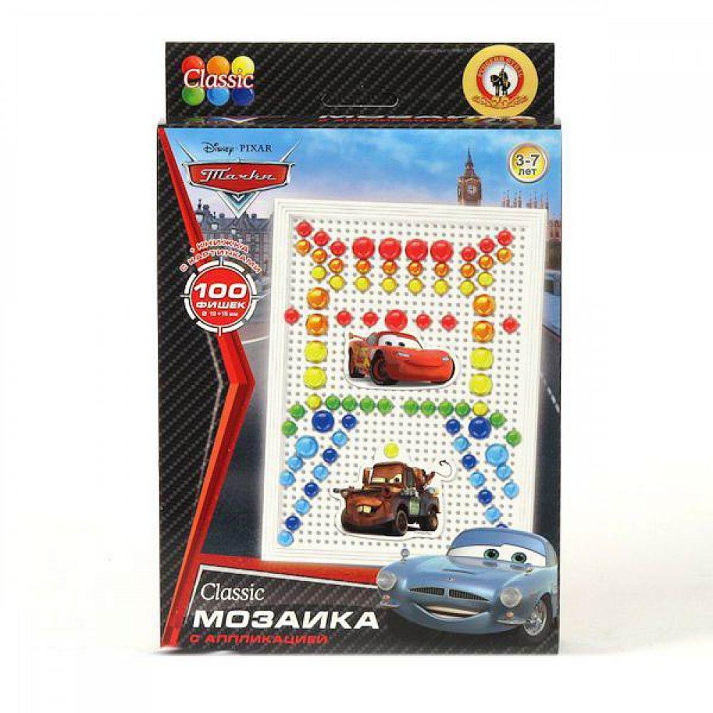 Мозаика Classic Тачки 100 эл, D 10+15 мм, Малая плата