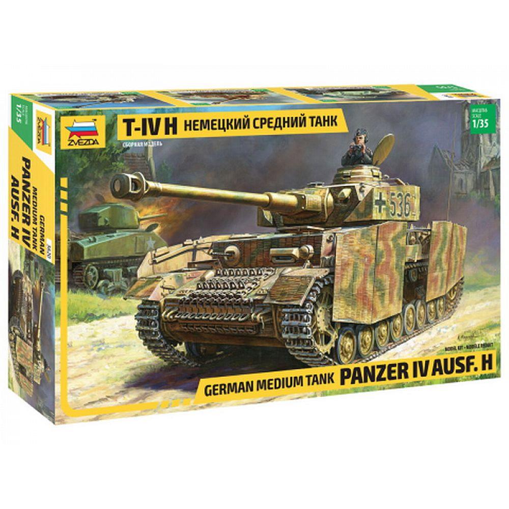 Сборная модель ZVEZDA Немецкий средний танк T-IV H