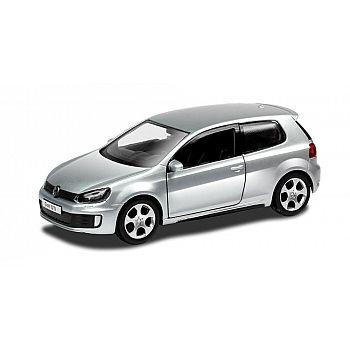 Машинка металлическая Uni-Fortune RMZ City 1:32 Volkswagen Golf GTI (цвет серебряный)