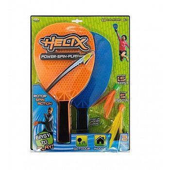 Бадминтон YULU Helix Fun, в наборе: 2 ракетки, 2 волана
