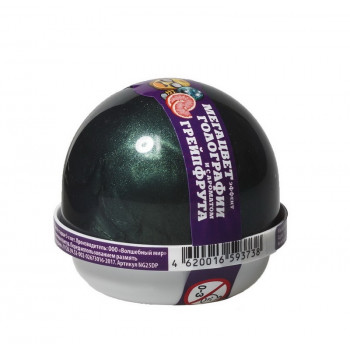 "Жвачка для рук Nano gum эффект голографии и аромат грейпфрута"", 25 гр."