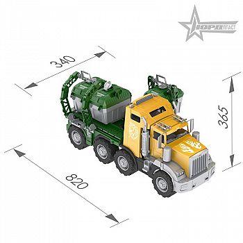 Аризона Мусоровоз с 3-мя контейнерами 82 см