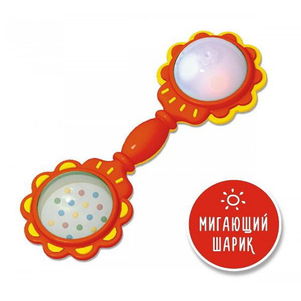 Погремушка Светлячок с мигающим шариком