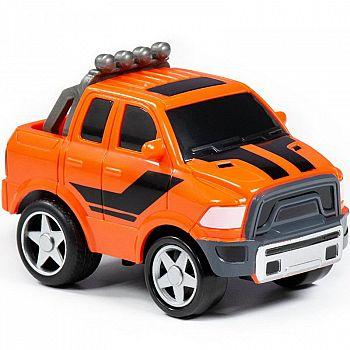 Автомобиль Крутой Вираж гоночный №4 инерционный (в коробке)