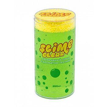 Слайм Slime Clear Изумрудный город с ароматом черники/яблока 250 г