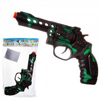 """Пистолет """"Камуфляж"""", пластмассовый, в пакете"""