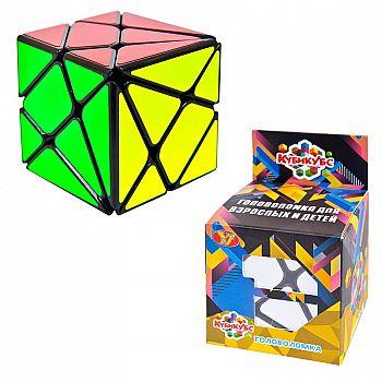 Головоломка пластмассовая, Кубикубс, в коробке, 6х6х6 см.