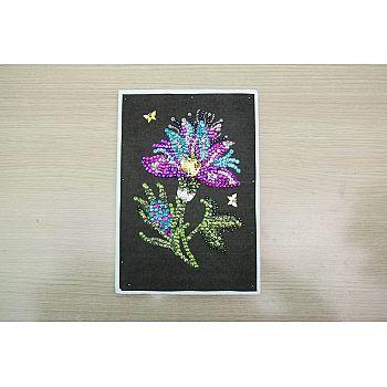 Мозаика из пайеток Волшебный цветок