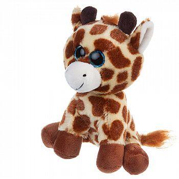 Мягкая игрушка ABtoys В дикой природе Жирафик, 15см игрушка мягкая