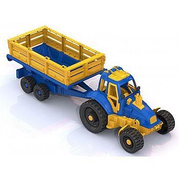 Трактор с прицепом 55,5*16,5*17,5 см