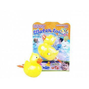 Игрушка для ванной Junfa Утенок, заводной 14x18,5x7,5см