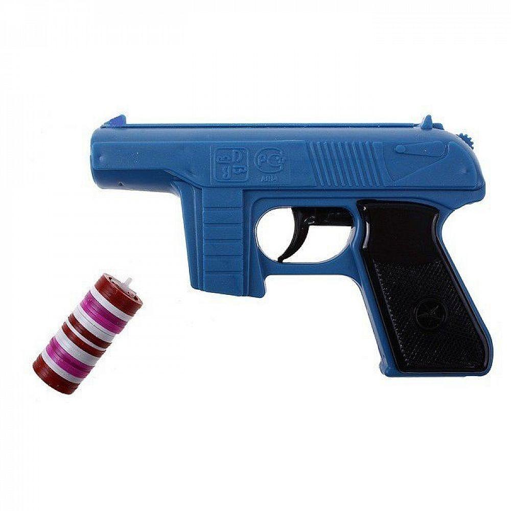 Пистолет с дисковыми пулями 15 см.