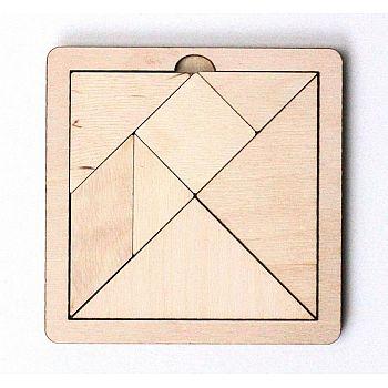 Игра головоломка деревянная Танграм (малая)