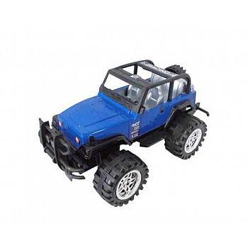 """Машинка """"Джип"""", пластмассовая, инерционная, синяя"""