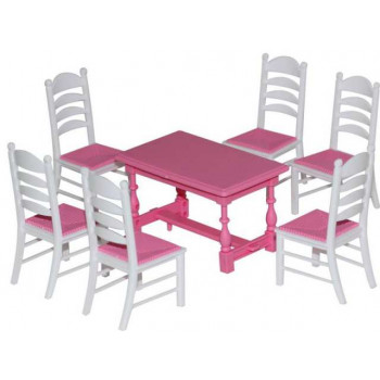 Набор мебели для кукол №6, 7 элементов