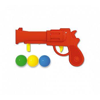 Пистолет пластмассовый с шариками ( в п/п пакете)