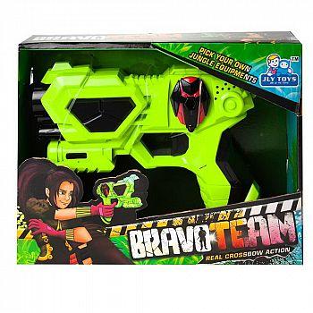"""Бластер """"Bravo Team"""", со световыми и звуковыми эффектами , 24х18х5,5 см"""