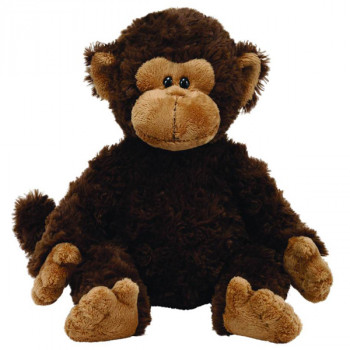Мягкая игрушка TY Classic Обезьянка Bungle (темно-коричневый) 25см