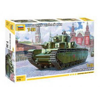 Сборная модель ZVEZDA Советский танк Т-35