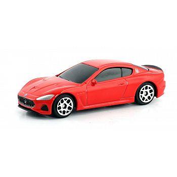 Машинка металлическая Uni-Fortune RMZ City 1:64 Maserati GranTurismo MC 2018, без механизмов, цвет красный, 9 x 4.2 x 4 см