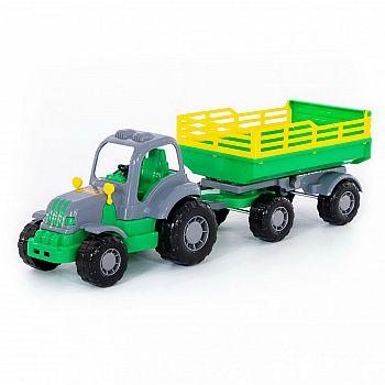 Трактор с прицепом №2 Крепыш