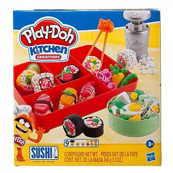 Набор для творчества Hasbro Play-Doh для лепки Суши