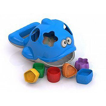 """Дидактическая игрушка """"Дельфин"""" 20,5х14,5х13,5 см."""