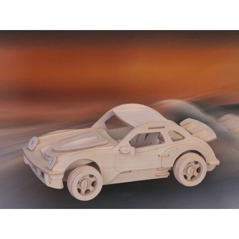 Сборная деревянная модель Чудо-Дерево Транспорт Порше (5 пластин)