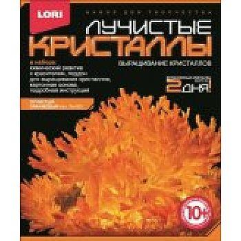 Набор Лучистые кристаллы Оранжевый кристалл