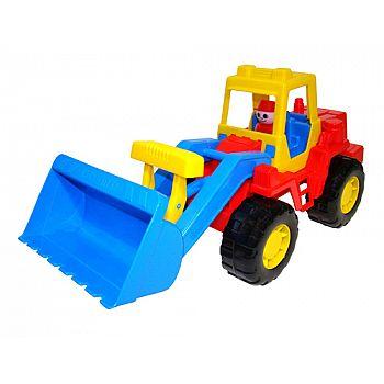 "Трактор погрузчик ""Техник"" 42х16,3х20,8 см."